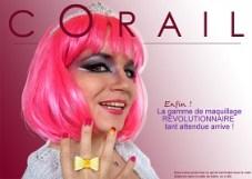 Miss Corail maquillage