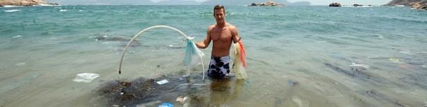 Pollution plastique plages