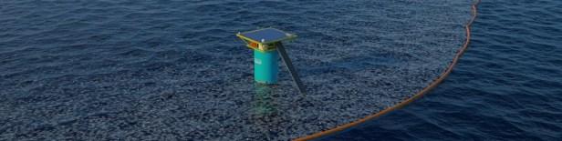 Projet pour récolter les déchets en mer