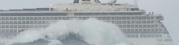 Viking Sky cruise ship evacuated off coast of Norway - 23 Mar 2019