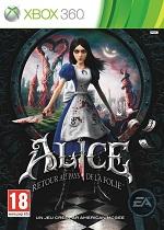 Top Jeux Xbox 360 Alice Retour au pays de la folie