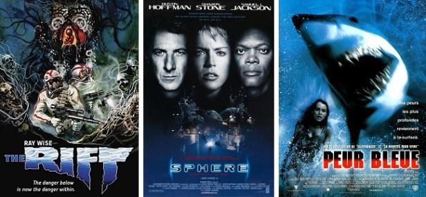 Films d'horreur requins
