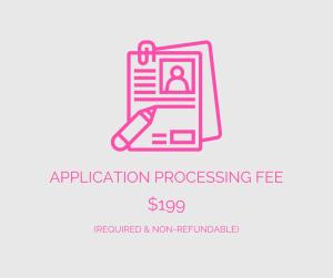 Application Processing Fee