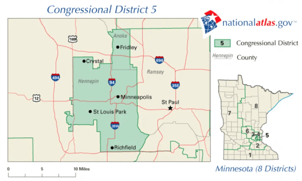 Minnesota 5th Congressional District