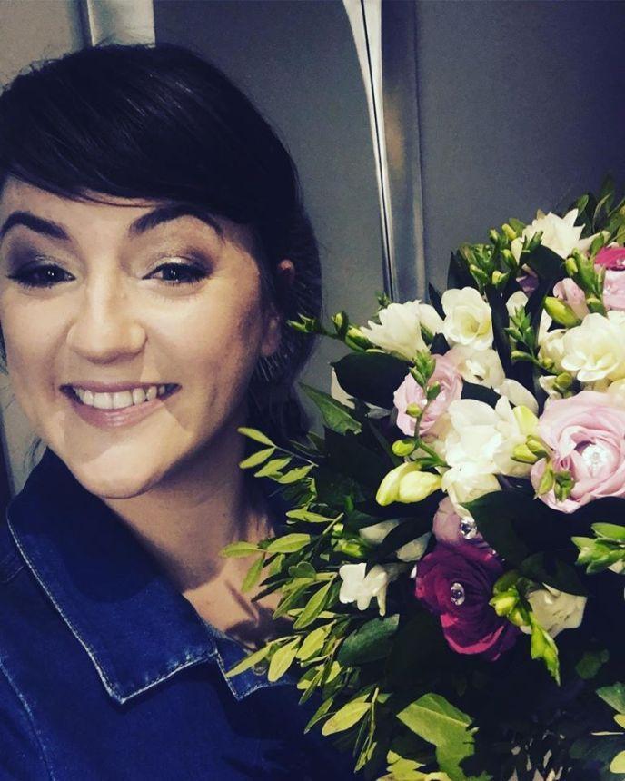 Hayley Rees Floral Designer and owner of Misselthwaite Flowers Ltd