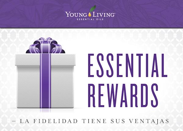 El programa de recompensas esenciales de Young Living
