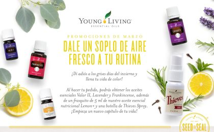 ¿Qué son las promociones mensuales de Young Living?
