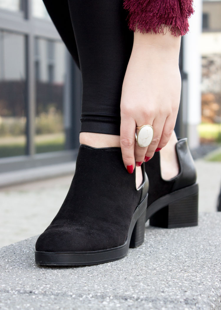 Cut Out Booties von Pull and Bear