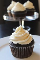 These chocolate Guinness cupcakes are a lovely alternative to serving dessert at a St. Patrick's party!