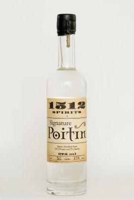 Poitín is an Irish potato vodka with a very high alcohol content! Kinda like the moonshine of Ireland!