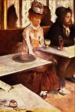 L'absinthe (1876) by Edgar Degas/ Oil on canvas 92 cm × 68 cm/ Location Musée d'Orsay, Paris (photo: wikipedia)