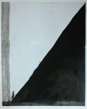 Copying Master (Ho Fan) 2016, 22 x 30 cm, Watercolor on paper