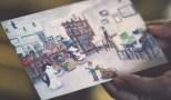 客人送給Eddie的手繪。