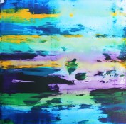 A Wu 40cm x 40cm Acrylic on canvas