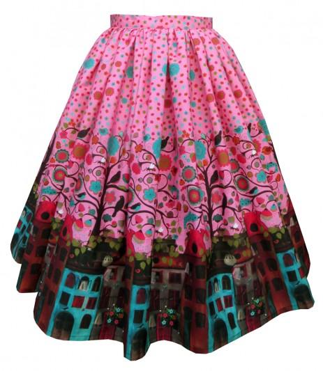 Boardwalk Skirt – Amsterdam: Flora & Fauna