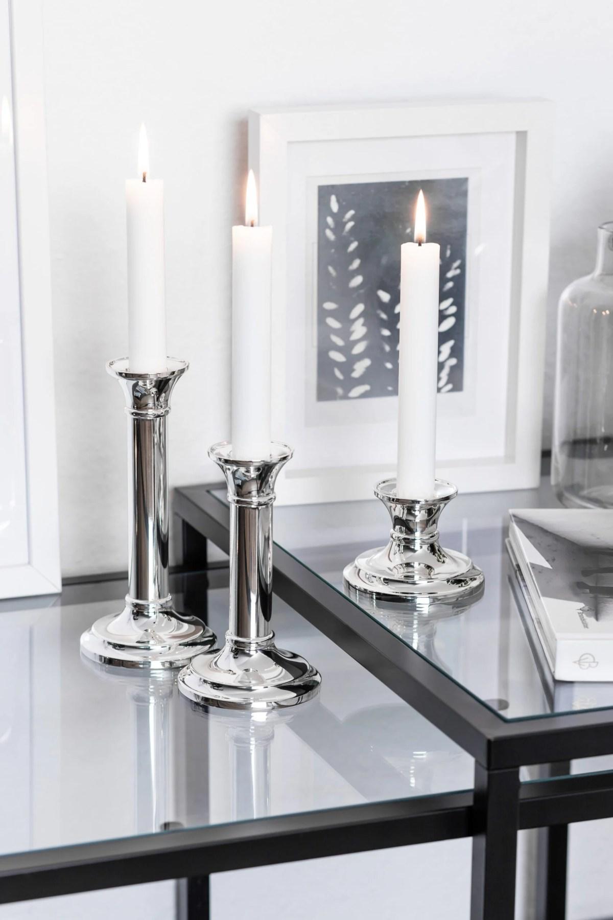 1099 Kerzenleuchter Fiona für Stabkerze, Höhe 6 cm