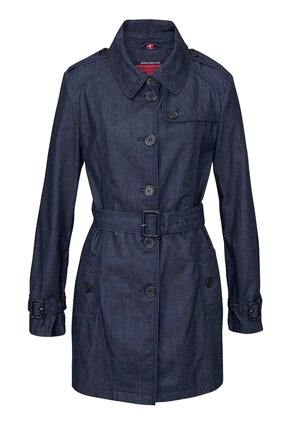 Jeans Trenchcoat Danwear   Missforty