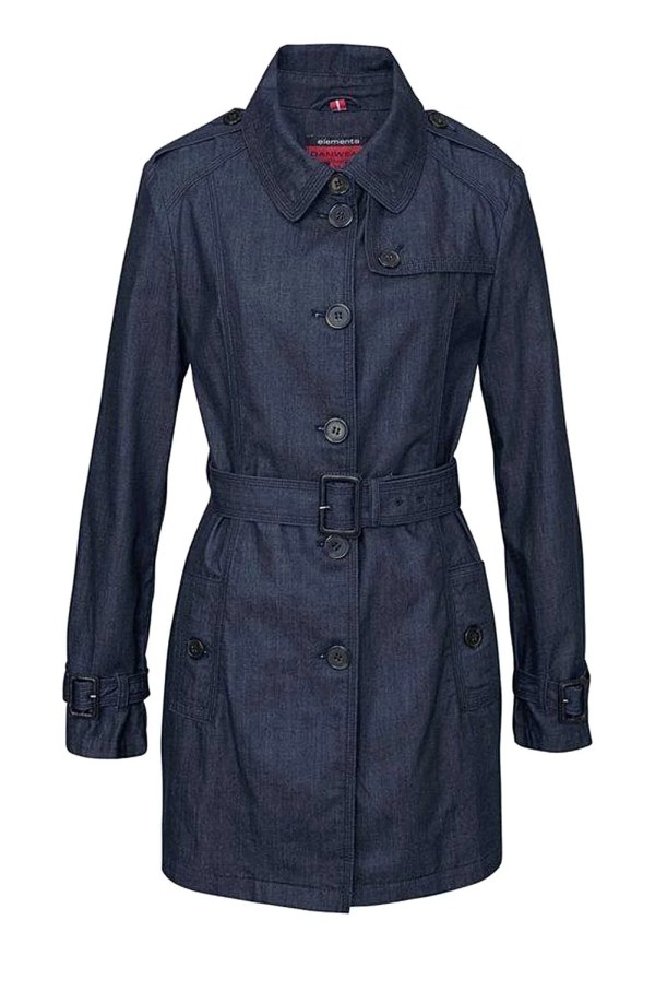 Jeans Trenchcoat Danwear | Missforty