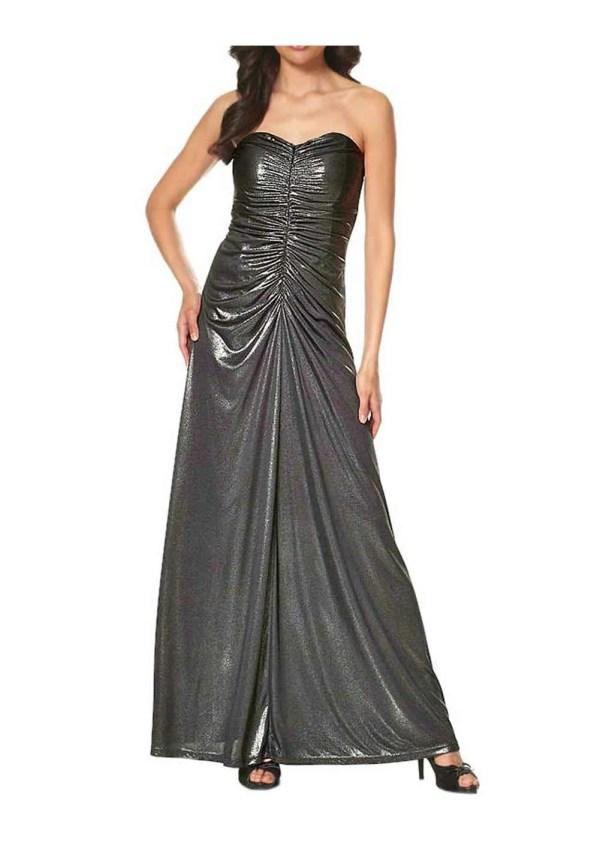 475.706 Abendkleid, schwarz-metallic von Laura Scott Evening Grösse 32