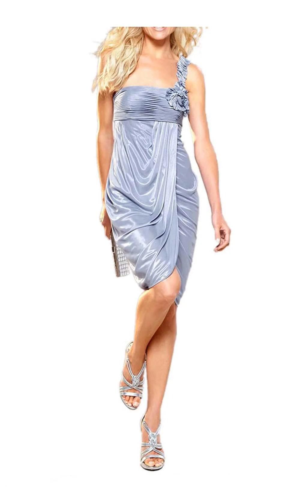 507.506 APART Damen Designer-Abendkleid Hellblau