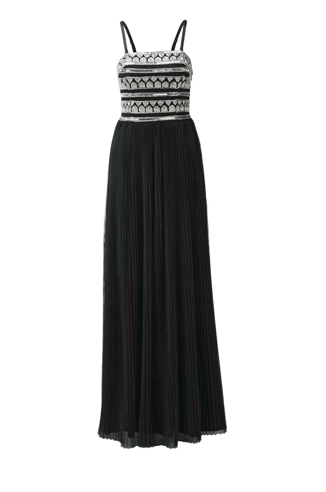 599.550 Heine Abendkleid + Jacke schwarz