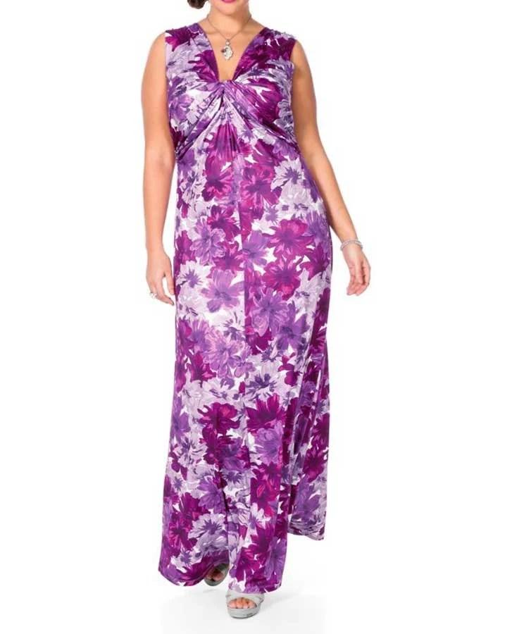 619.943 SHEEGO Damen-Abendkleid Rosa-Lila