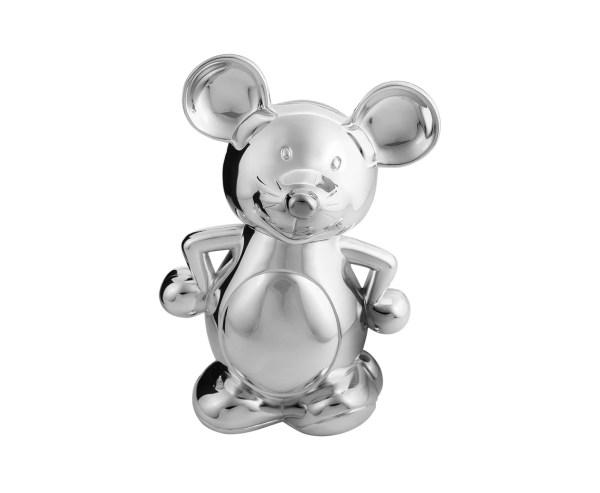 3367 Spardose Sparbüchse Maus, Höhe 19 cm