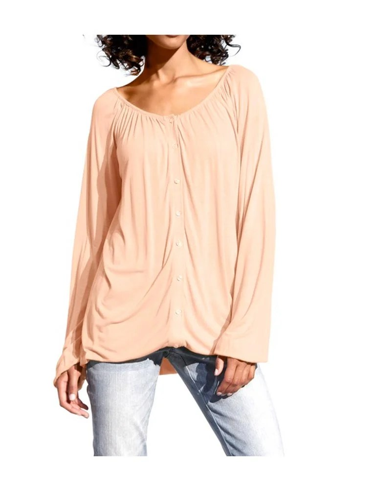 098.329 HEINE Damen Designer-Shirt Apricot