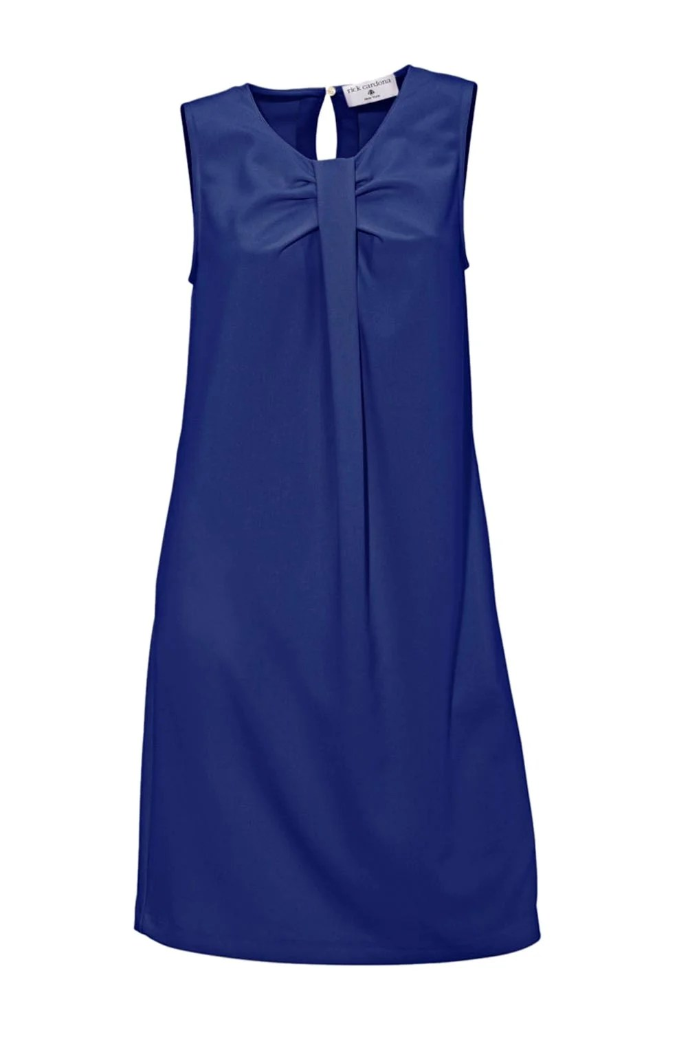 108.179 RICK CARDONA Damen Designer-Etuikleid Azurblau