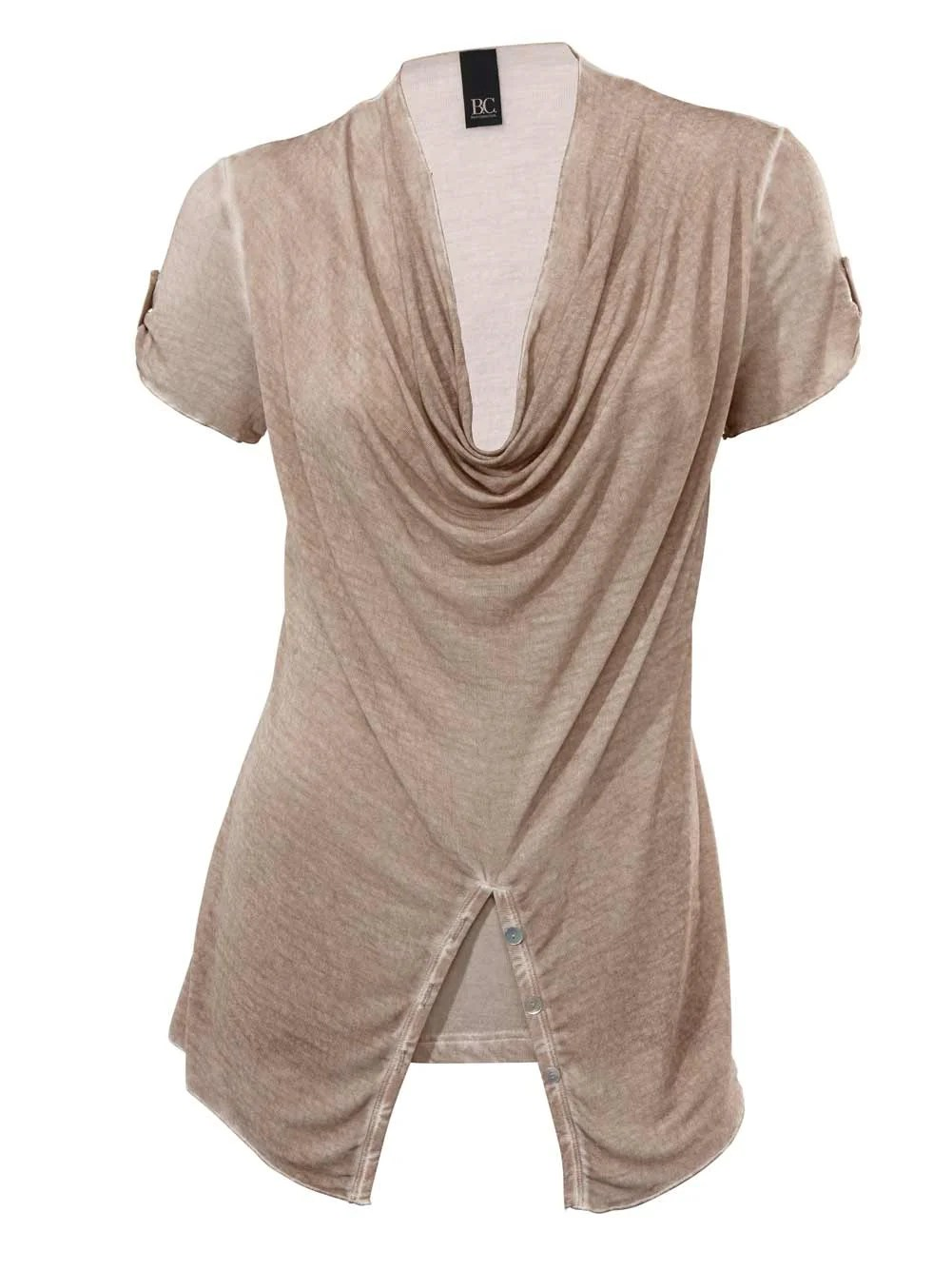 174.911 HEINE Damen Designer-Shirt Sand