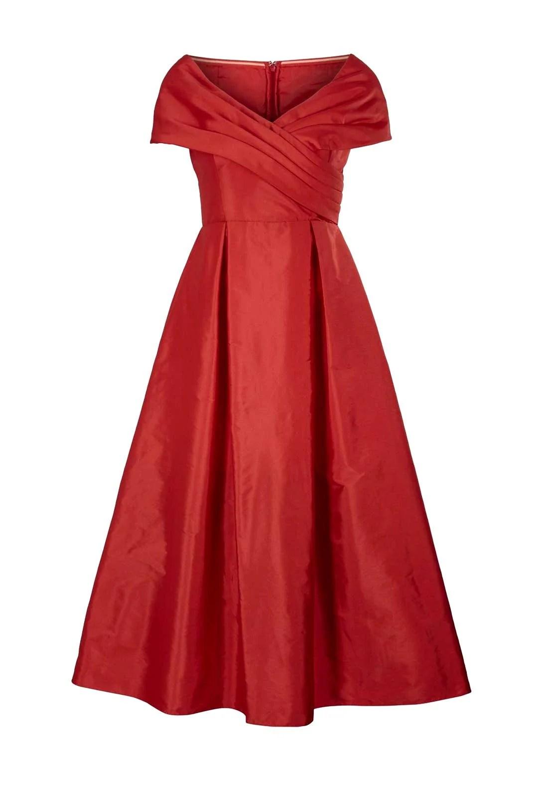 342.455 HEINE Cocktailkleid Petticoat Petticoatkleid Ballkleid Midikleid Abendkleid Rot