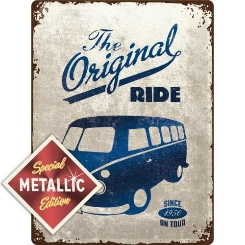 Vw Bulli The Original Ride - Metallic Edition - 30X40 cm