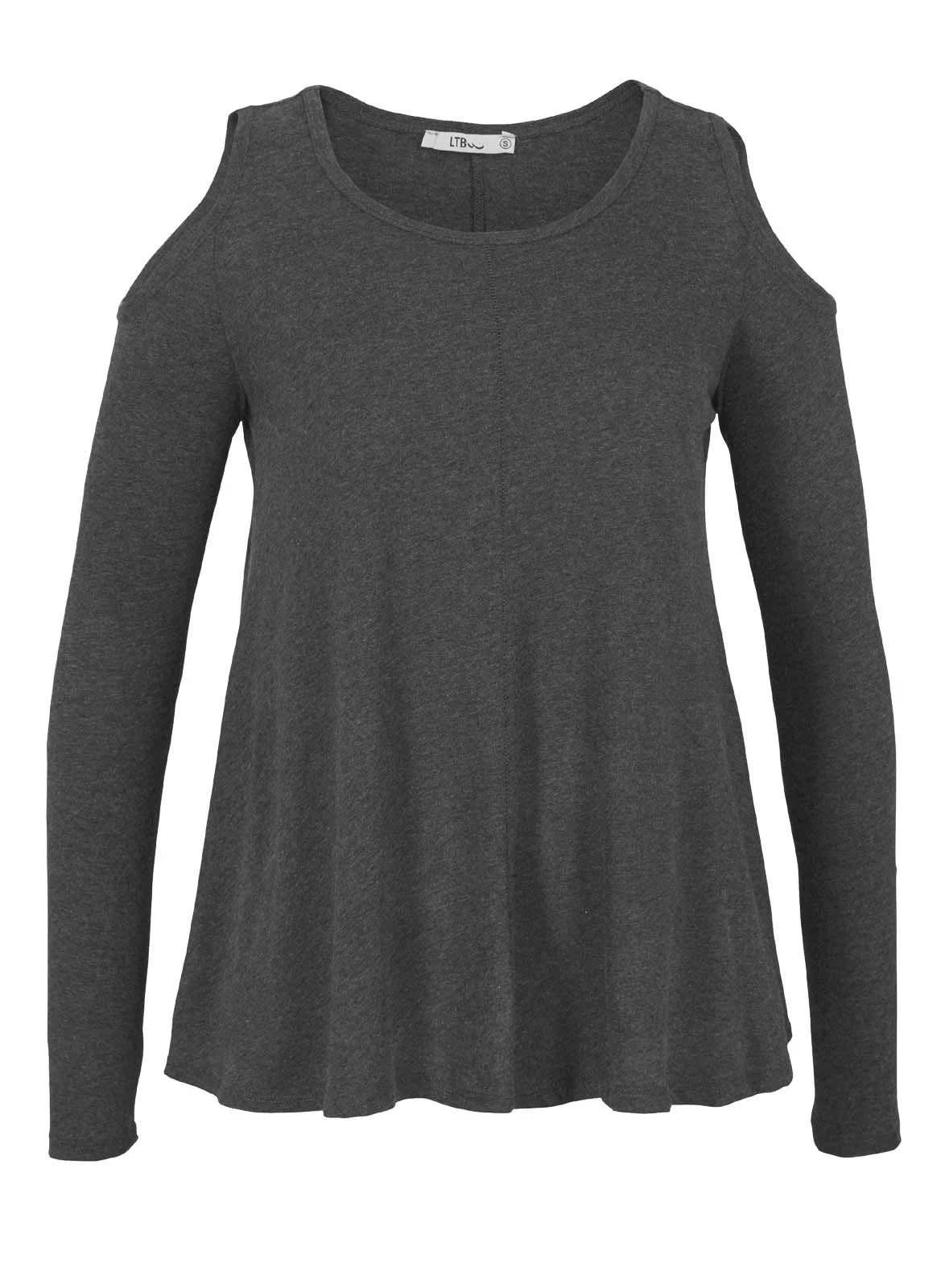 788.772 LTB Damen-Shirt Grau-Melange