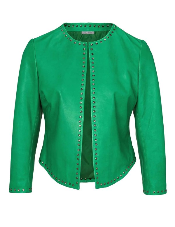 401.757 Ashley Brooke Damen Lederjacke Echt Leder
