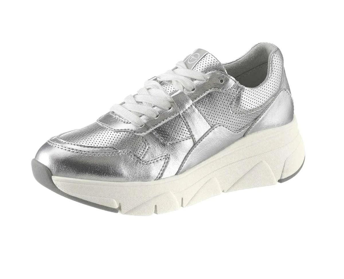 675.688 Tamaris Sneaker, silberfarben