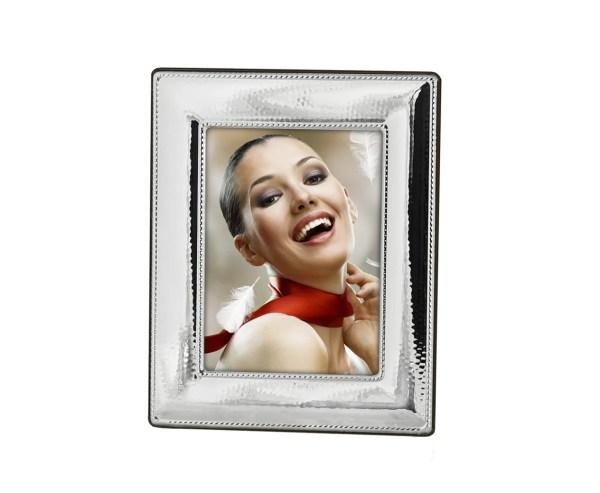 9718 Fotorahmen Bilderrahmen Tours 1 Foto 13 x 18 cm Echtsilber Silber Rahmen