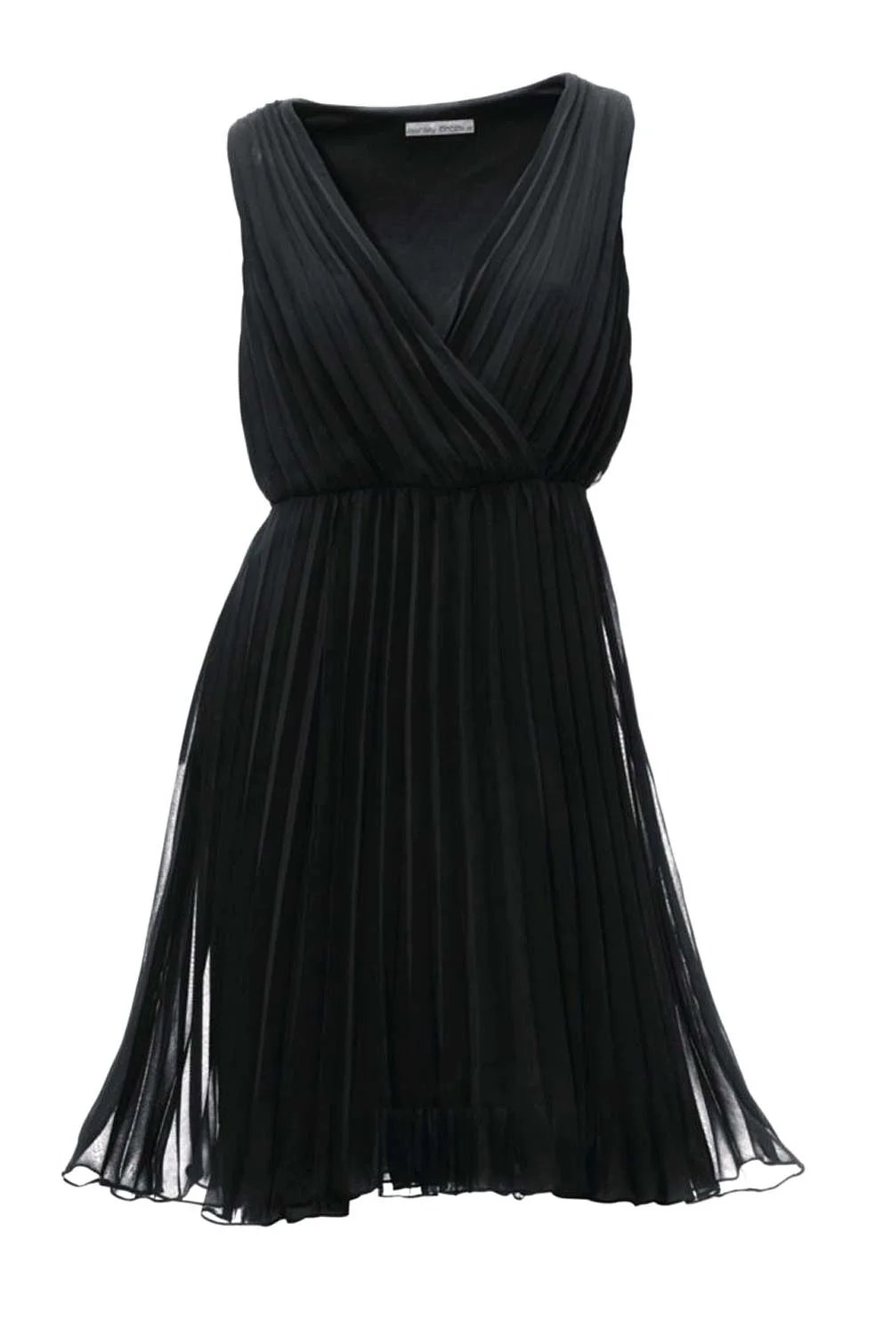 kurzes kleid für besondere anlässe Ashley Brooke Georgettekleid schwarz 023.650 Missforty
