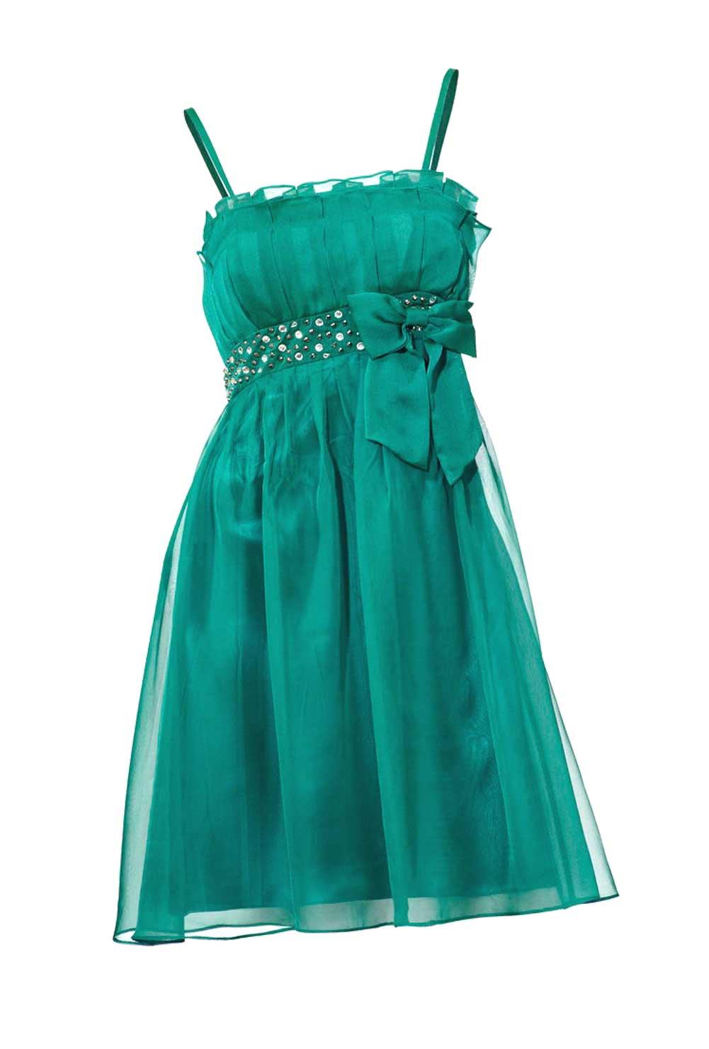 kurzes kleid für besondere anlässe Cocktailkleid m. Strass, smaragd von Ashley Brooke event Grösse 44 074.889 Missforty