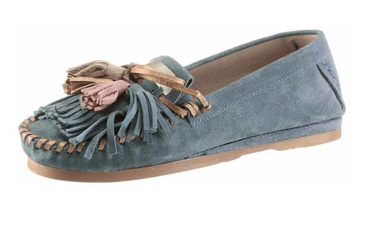 Sale Online | Missforty 262.660 I´m walking Mokassin, grau-blau