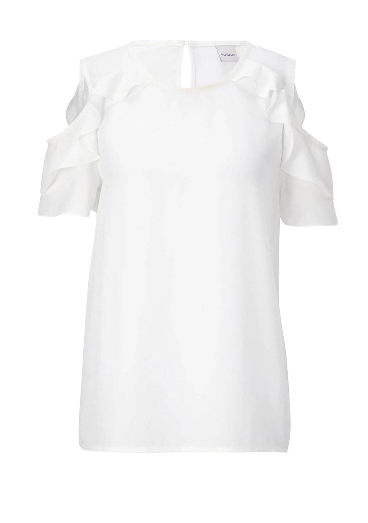 t shirts ohne ärmel Damenbluse, weiß von Heine 535.595 Missforty