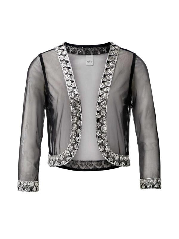 Festmoden Heine Abendkleid + Jacke schwarz 599.550 Missforty