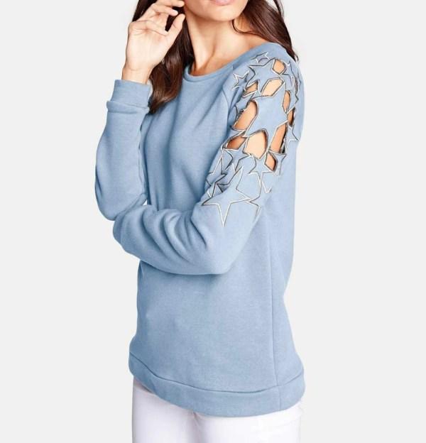 sweatshirts auf rechnung Sweatshirt von Heine, blau 769.452 MISSFORTY