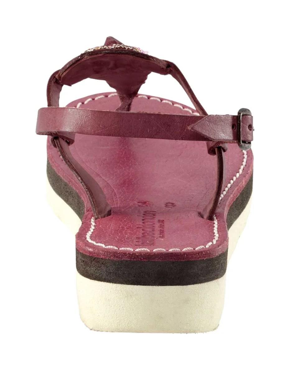 803.450a Sandale, mauve von Laidback London Grösse 38