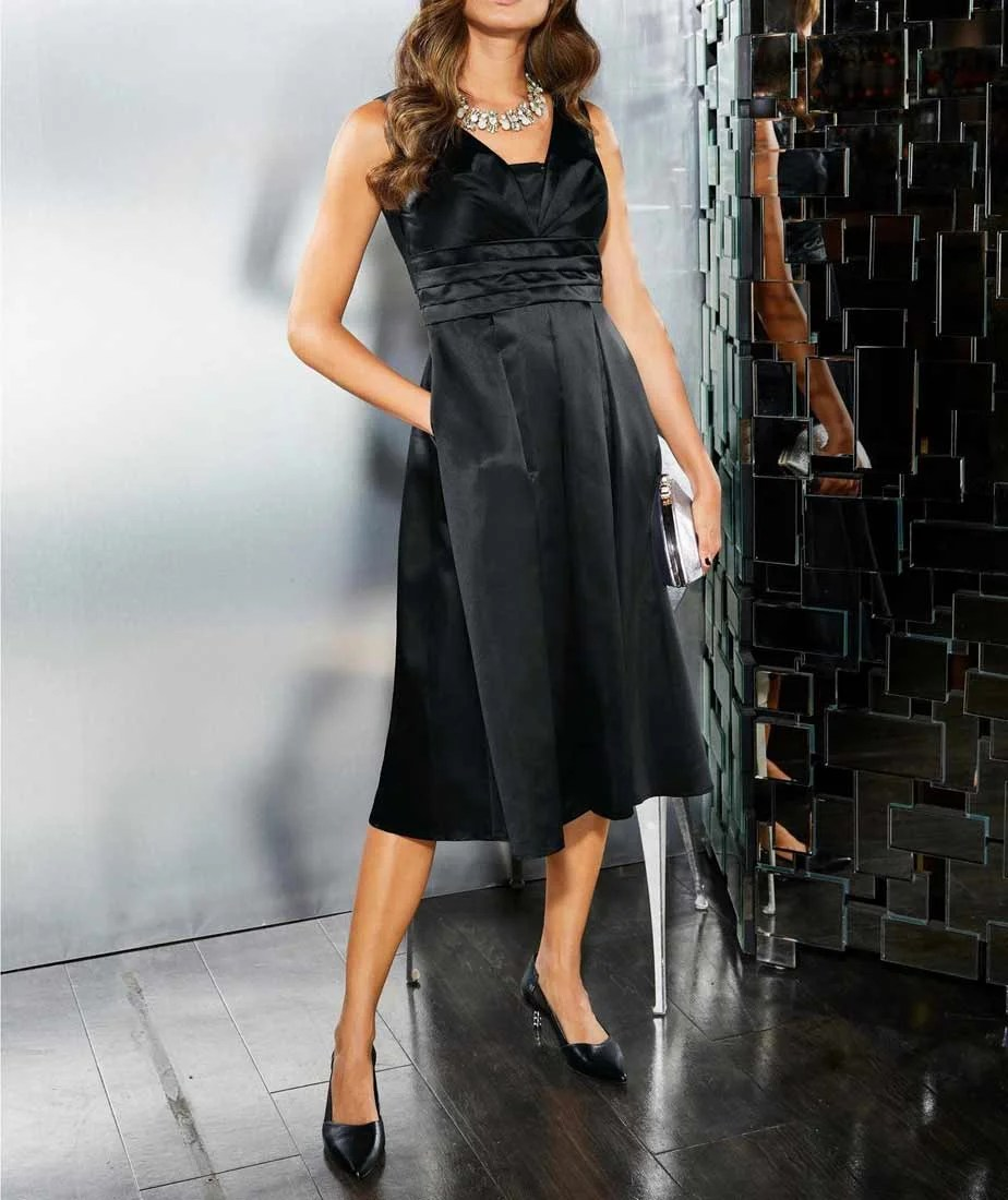 """abendkleider in übergrößen Abendkleid, """"das kleine Schwarze """", schwarz 813.606 Missforty"""