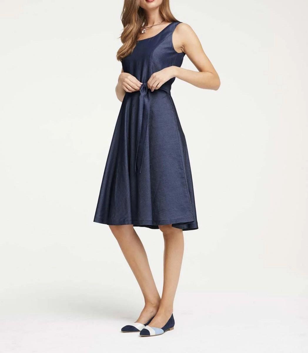 wadenlange kleider für besondere anlässe Prinzesskleid, blau von Heine 878.355 missforty