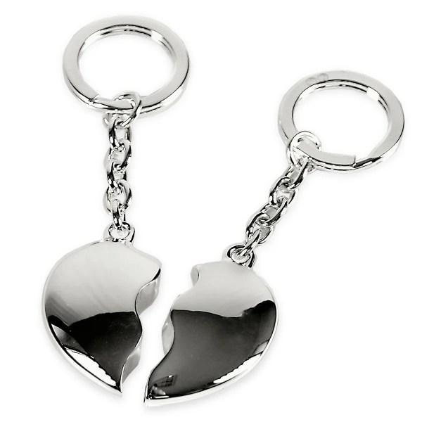 nützliche geschenke für männer Schlüsselanhänger Vatertag Liebesbilder Herzen Gebrochenes Herz, 2-teiliig 4119 Missforty