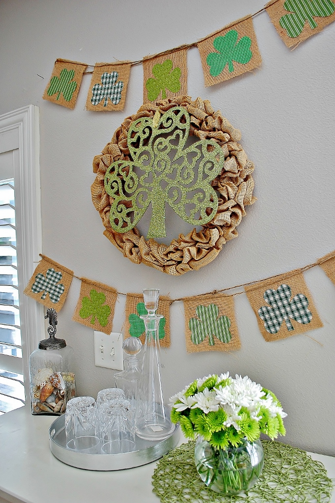 St. Patricks Day Decor | missfrugalfancypants.com