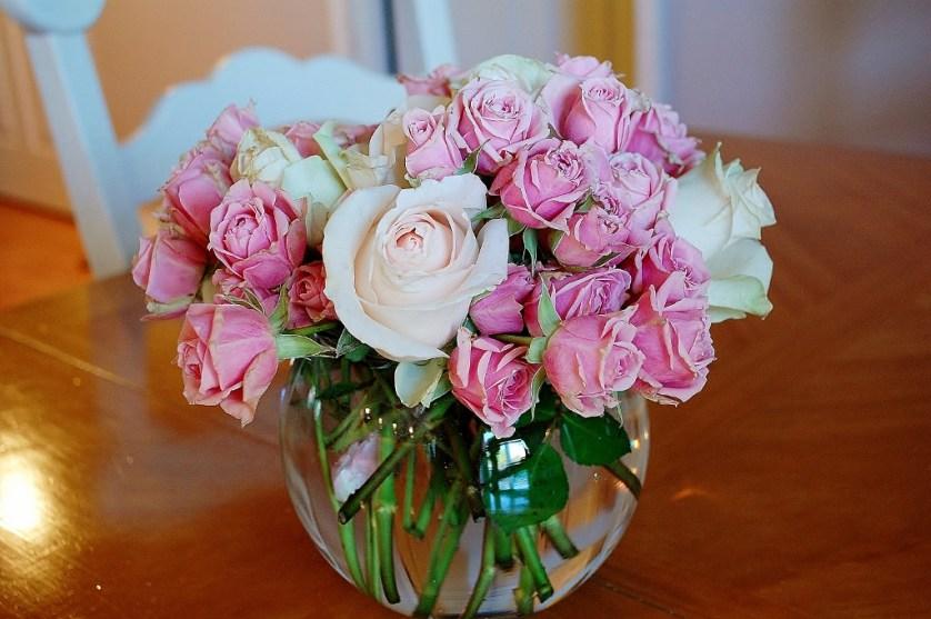 Pink Roses | missfrugalfancypants.com