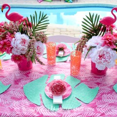 Lilly Pulitzer Inspired Pool Party