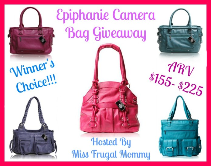 Epiphanie Camera Bag Giveway (Winner's Choice)